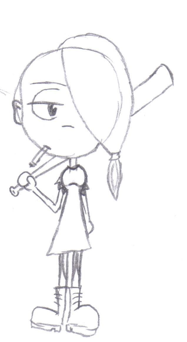 Eine Skizze von Sweetie