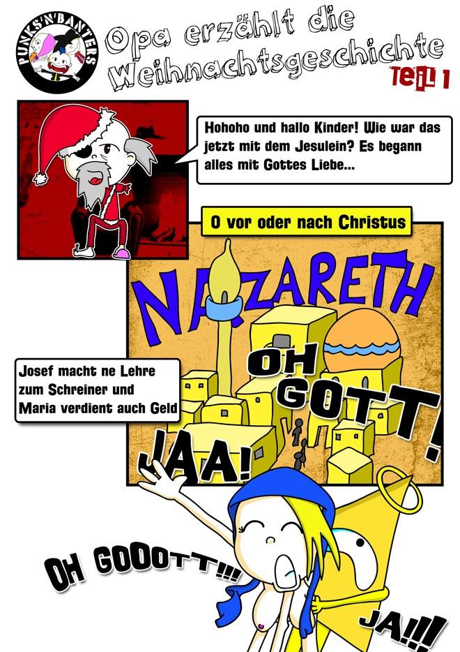 Teil 1 der Punks'n'Banters Weihnachtsgeschichte