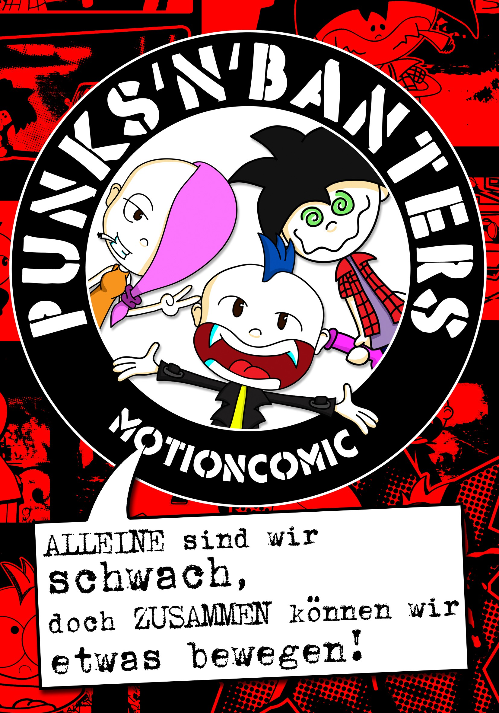 Punks'n'Banters Motioncomic