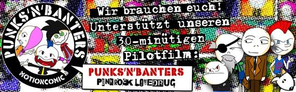 Punks'n'Banters Crowdfundingbanner