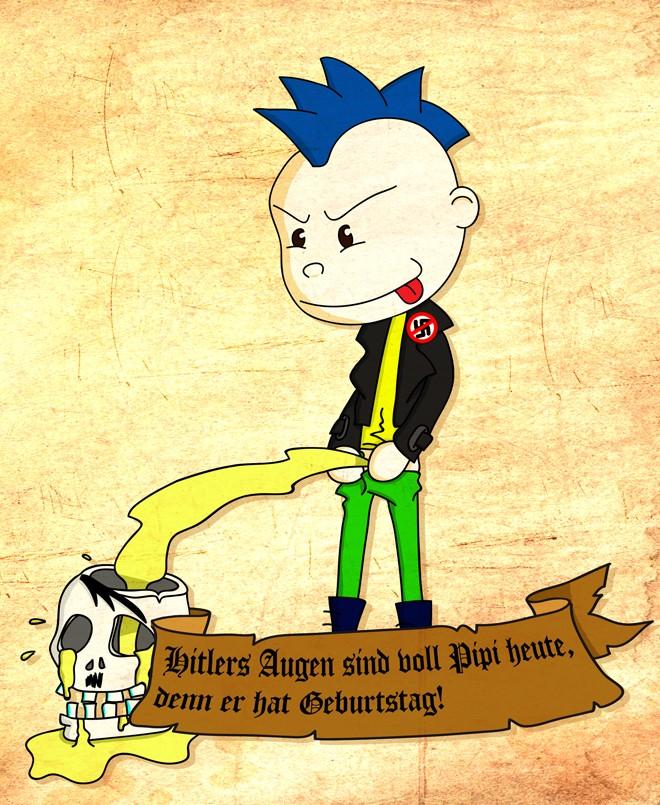 Punks N Banters Der Punk Comic Geburtstag Archives Punks N