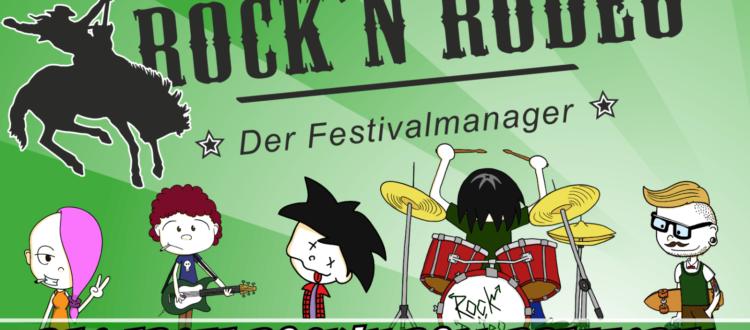 Brettspiel Rock'n Rodeo Crowdfunding auf Startnext