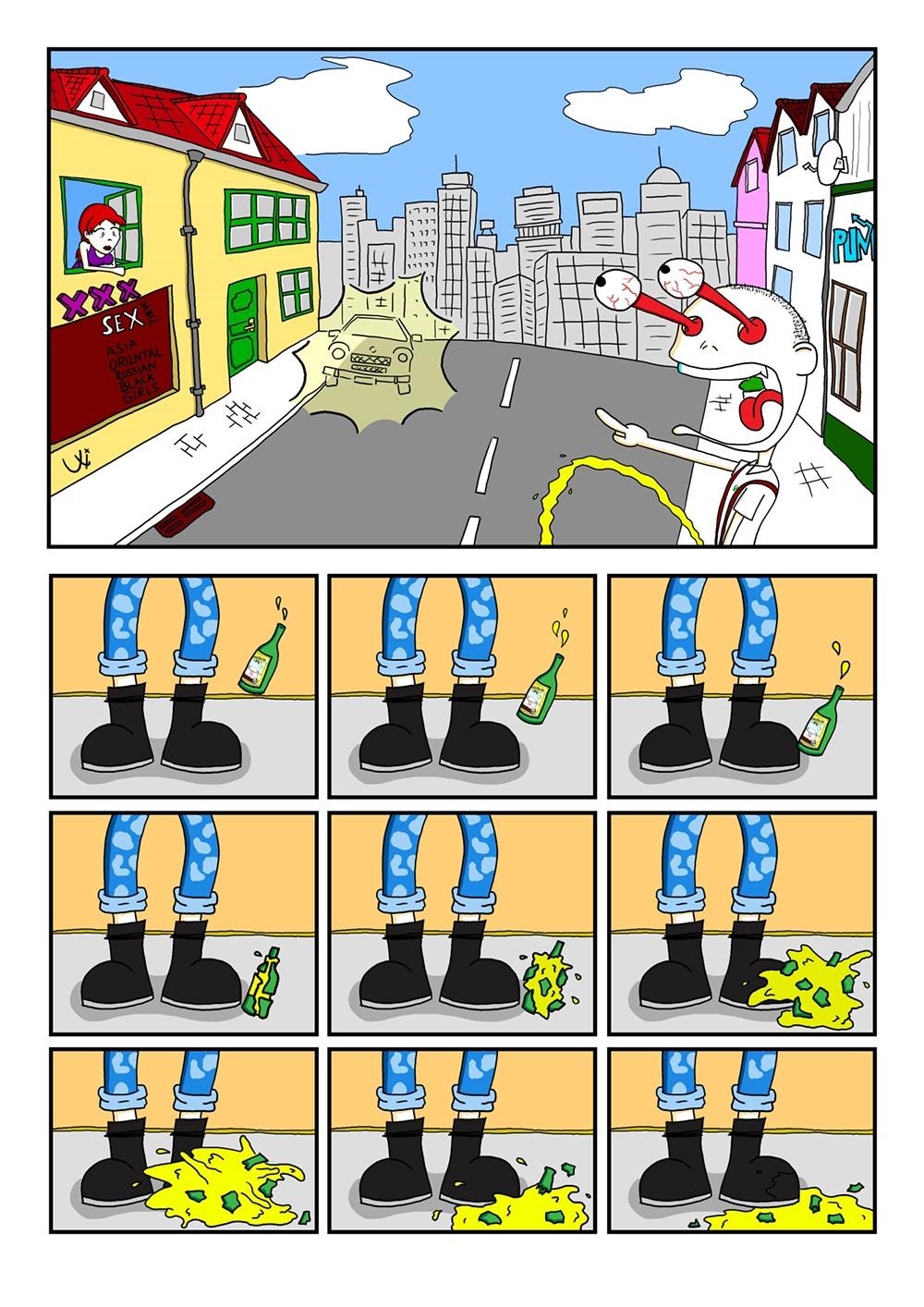 Seite 08 – Punks'n'Banters Comic