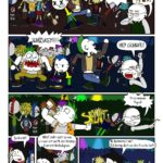 Punk Rock Konzert Comic