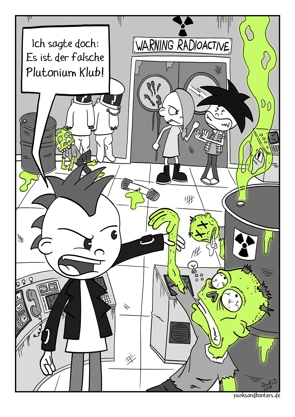 Willkommen im Plutonium-Klub