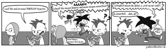 Punkrock Magazin Comic