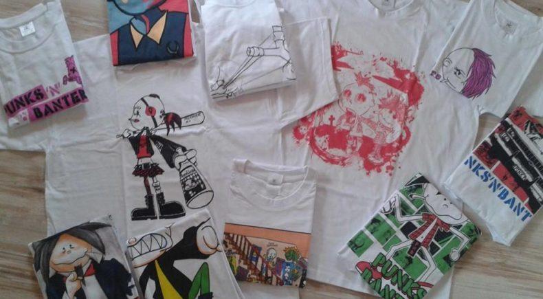 T-Shirts Punks'n'Banters erhältlich bei Spreadshirt.de