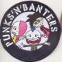Der Prototyp der ersten Punks'n'Banters Aufnäher
