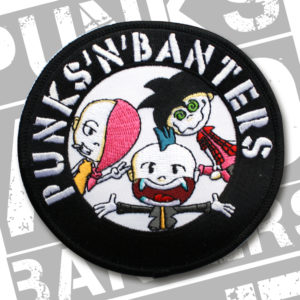 Punks'n'Banters Logo Aufnäher