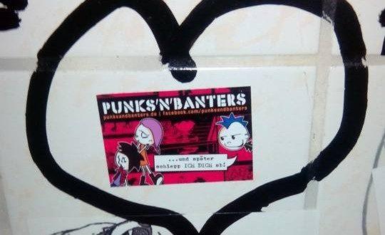 Punks'n'Banters Herz für den Comic