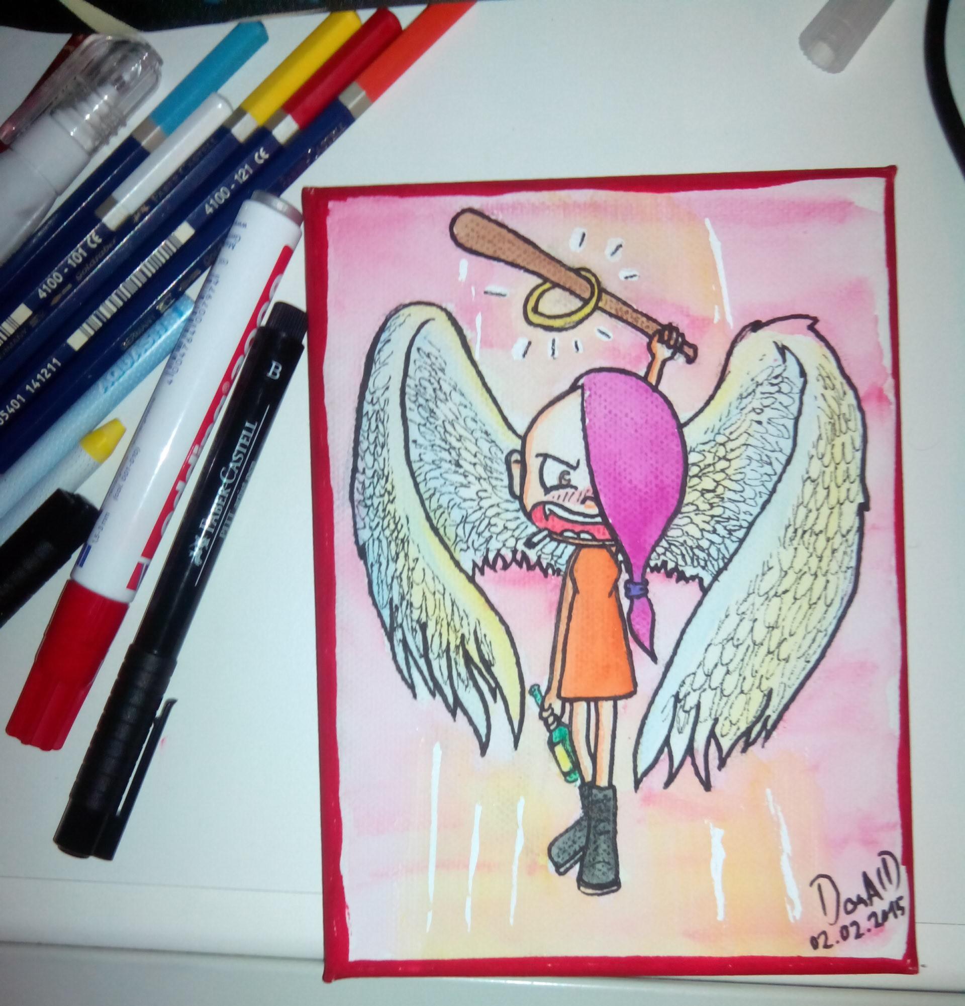 Sweetie als rüpelhafter Engel