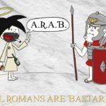 Jesus All Romans Are Bastards1000